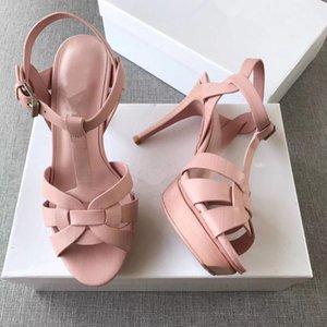 New Custom Celebrity Shoes Tribute in pelle verniciata Sandali gladiatore sandali sexy con tacco alto Sandali donna Sandali Mujer