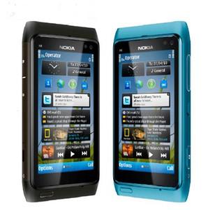 "Abierto original de Nokia N8 teléfono móvil 3G WIFI GPS 12MP cámara de 3.5"" Pantalla de 16 GB de almacenamiento teléfono barato"