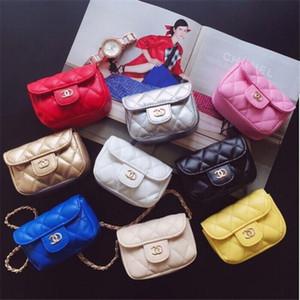 Niños bolsos diseño encantador niños Mini monedero del hombro Bolsas del adolescente caramelo bolsas de mensajero Lindos regalos de Navidad para Bebés y Niños