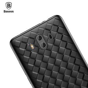 Para Huawei Mate 10 Funda Baseus Creative Grid Weaving Funda de silicona suave Para Huawei Mate 10 Pro Thin Smooth cubierta del teléfono