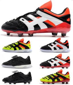2018 Hommes 98 Predator Accelerator tr FG Soccer Cleats de Soccer Chaussures de football de la Coupe du Monde Predor Accelerator Electricity Football Bottes Botas de Futbol