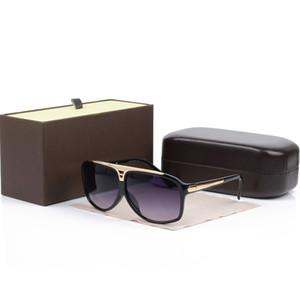 New Fashion marke Evidence Sonnenbrille Retro Vintage Männer Markendesigner Shiny Gold Rahmen Reisebrille Frauen Brillen Mit Boxen