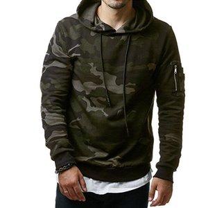 Mode Männer 2018 Hoodies mit Kapuze New Brand Camouflage SweatshirtHoodie Hoodie Hip Hop Winter Herbst Male Herren Pullover DSW Rppwo