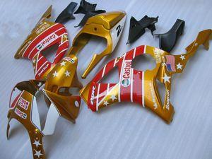 Rotgold Verkleidungen für Honda CBR900RR 2002 2003 CBR954 Verkleidungskit 02 03 CBR954RR CBR 954RR CX22 gesetzt