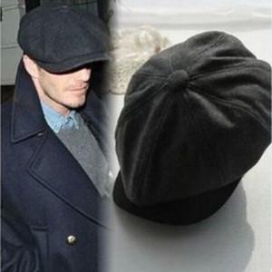 New Arrival Tweed herringbone Gatsby Cap Hat Mens Ladies Flat 8 Panel Baker Boy Newsboy