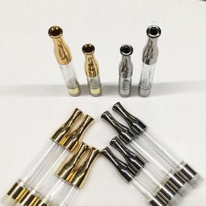 G2 Ölpatronen Verdampferstiftpatronen Runde Tropfspitze Zerstäuber Vape Pens 510 Faden 0,5 ml 1,0 ml Gold Silber