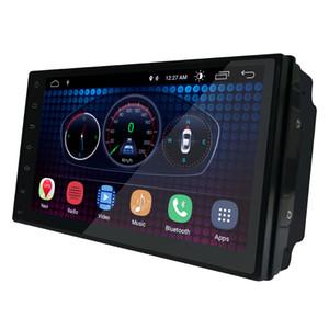 7 polegada Android 6.0 Cabeça-unidade Universal 1024 * 600 Android Car Navegação GPS Multimedia Player Rádio Bluetooth Wi-fi DVR Pronto