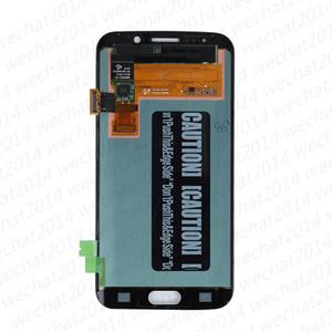 30 pcs display lcd touch screen digitador assembléia peças de reposição para samsung galaxy s6 edge g925 amouled g925a g925f