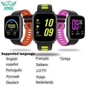 2017 newest smart watch GV68 MTK2502 Bluetooth 4.0 SmartWatch Reloj Inteligente impermeable IP68 Support iphone Android pk kw18
