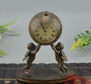 Antique collection, antique machinery, clock and pure copper, European and American classical watches, angel watches and clocks, ancient orn