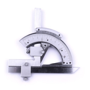 Universal Bevel Protractor 0-320 degree Precision Angle Measuring Finder Ruler Tool inner and outer parts