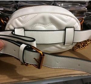 Marmont Tasche Herbst und Winter Stlye Die meisten popul Luxus Handtaschen Frauen Tasche Designer Mini Messenger Bags Feminina samt Mädchen Taille Tasche