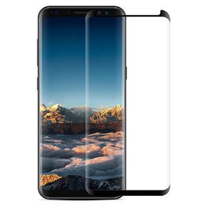 Caso amistoso curvado vidrio templado para Samsung Galaxy S8 3D 9H Protector de pantalla película protectora para Samsung Galaxy S8 Plus S7 S6 Edge