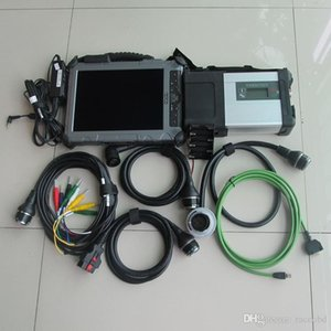 mb sd étoiles connecter c5 compact avec ssd avec iX104 industriel robuste Core i7 4 g Tablet ordinateur portable de diagnostic