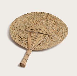 Ventiladores da palma da mão - Ventiladores Handmade da folha de palmeira natural, ventilador Hand-Held da pá do repouso retro Decorativo - para o uso pessoal (30cm x 38cm Aprox.)