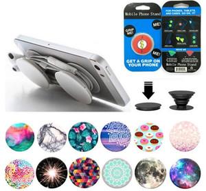 telefono cellulare Air bag multi-funzione di supporto della staffa involucro agganciato espansione circolare con la confezione di vendita al dettaglio mobile Accessori per Universal