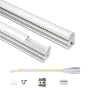 T5 Entegre LED Tüp 1 ft 2 ft 3 ft 4 ft 175-265V LED Floresan Tüp SMD2835 6W 10W 14W 18W led ışıklar