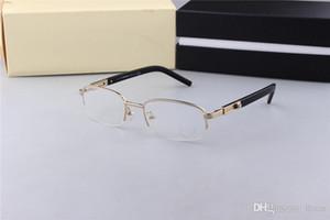 MB Brillen Frames 399 Legierung Rahmen Gläser Rahmen, die alte Weisen oculos de grau Männer und Myopie Brillen Frames