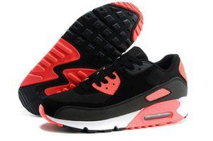 Venta caliente Hombres Zapatillas Zapatos Classic 90 Hombres Zapatillas Venta al por mayor Envío de la gota Sports Trainer Air Cushion Zapatos deportivos