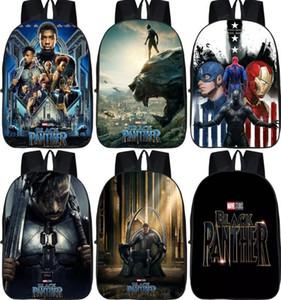 Zaino da 16 pollici Avengers Infinity War Zaino nero Stampa bagpack Sacchetti di scuola per bambini Ragazzi Ragazze adolescenti Mochila