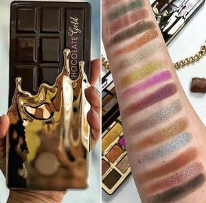 Retail Link Dropshipping 2018 New hot Eye Shadow Gold 16 couleurs Chocolate fard à paupières mat Shimmer palette naturelle