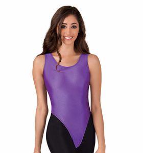 Kadın Naylon Lycra Tankı Tanga Leotard Jimnastik Dans Mayoları Kızlar Için Bale Dans Üstleri Spandex Cilt Tayt Giysi