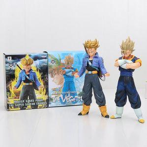 Anime Dragon Ball Z Súper Saiyan Troncos Vegetto Master Star Piece Goku juegos Colección Figura de Acción modelo Juguete regalo de los niños