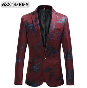 ASSTSERIES Blazer Men Male Party Suit Single Breasted Overcoat Casual Full Luxery Jacket Plus Size 5XL 6XL Blazer Masculino