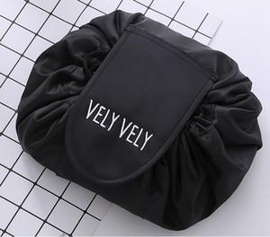 Il la cosa migliore Vely Vely il sacchetto cosmetico di lavaggio del cordone del sacchetto cosmetico di trucco dell'organizzatore di viaggio di viaggio del sacchetto cosmetico portatile del sacchetto sacchetti da toilette magici