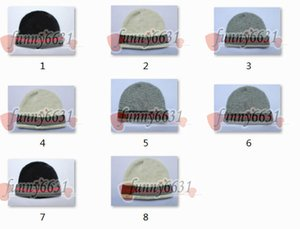 Großhandel Herbst-Winter-Hüte für Damen Herren Marke Art Art und Weise Beanies Skullies Chapeu Caps Cotton Gorros Touca De Inverno Macka Hut