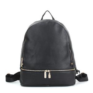 {} Original del logotipo del deporte al aire Packs escuela de moda mochila bolsa de las mujeres diseñador de la PU de cuero a estrenar estilo fresco envío