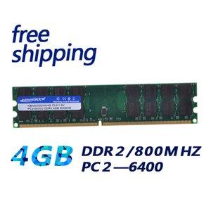 Модуль памяти ОЗУ KEMBONA Новые ОЗУ Computador Memoria RAM DDR2 800MHz 4GB Desktop PC компьютер DDR 2 RAM Бар 4G Работа для A-M-D