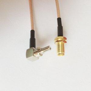 الجيل الثالث 3G USB مودم RF CRC9 ذكر مستقيم إلى SMA أنثى الضفيرة محول موصل كابل RG316