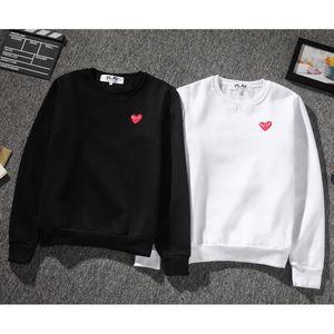 Diseño de marca Plays 4 colores sudadera con capucha para hombre Sudadera Loose Heart bordado hip hop hombres mujeres O cuello suéter sweatershirts