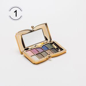 Al por mayor-Nueva Sombra de Ojos Brillo Sombra de Ojos 10 Color Diamante Brillante Colorido Paleta de Maquillaje Cosmética Profesional Partido Masquerade
