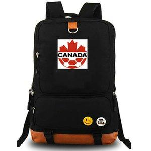 Канада рюкзак CAN страна команды мешок школы Кленовый лист Футбольного день пакет Компьютер рюкзак Спорт портфель Открытый рюкзак