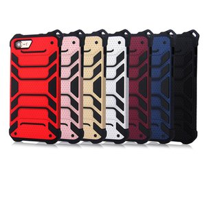 5pcs Strong Hybrid Tough Shockproof Armor Phone Back Case for iPhone X 6 6S Plus 8 7 Plus Hard Rugged Impact Cover