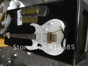 공장 상점 도매 최고 품질의 IBZ JEM 7V 흰색 일렉트릭 기타 무료 배송 케이스 포함
