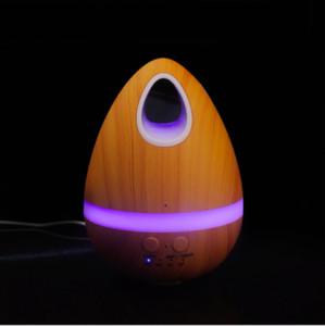 NOVA 200 ML Egg Madeira Aromaterapia Umidificador Ultrasonic Air Atomizador Quarto Escritório Em Casa Sala de estar Yoga Spa Aromaterapia máquina