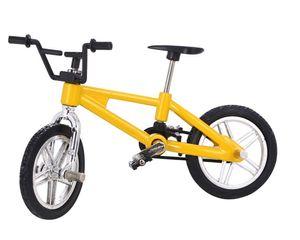 4 Colores Bebé Dedo Juguetes de Bicicleta Pequeña Bicicleta de Aleación de Plástico Modelo Diecast Bicicleta Craft Pantalla de Escritorio Decoración Del Hogar 600 unids