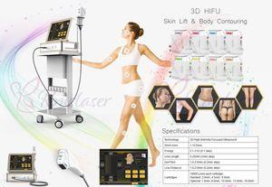2019 Yeni hifu vücut Zayıflama Makinesi 3D Hifu ultrason yüz germe cilt kaldırma kırışıklık kaldırma 3D HIFU