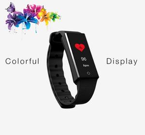 Z4 Rastreador De Fitness Pulseira Monitor de Freqüência Cardíaca Banda Inteligente Colorido Tela OLED Pedômetro Saúde Esportes Pulseira Inteligente boa