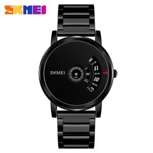 Reloj de hombre SKMEI Brand Fashion Top Relojes de cuarzo de acero completo Relojes impermeables simples para hombres Relogio Masculino 1260
