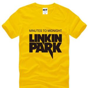 Minutos para a meia-noite Lincoln Linkin Park Rock hip hop t-shirt dos homens camiseta para homens de verão de algodão casual tee camisetas masculina