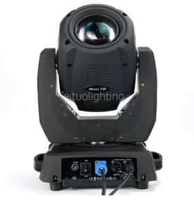 New Small Mini 7R Strahl 230 Moving Head Dj Licht Mini Beam-projetor Sharpy Strahl 7R Lyre Dmx Diso Party-Lichter