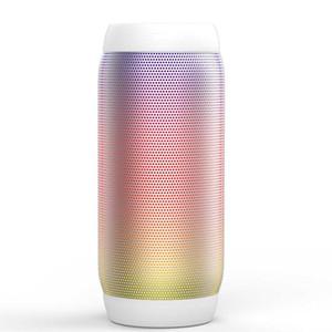 BQ615PRO 서브 우퍼 야외 휴대용 무선 블루투스 스피커 원통형 스테레오 서라운드 승차 카드 LED가 다채로운 오디오 모바일 컴퓨터 뮤