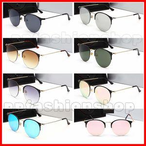 Sommer Neueste Männer Sport Metall Sonnenbrille Fahren Sonnenbrille Fahrrad Glas Frau Blenden Farbe Gläser A + + + Kostenloser Versand