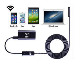 Cámara endoscópica Wifi de alta calidad Android 720P Iphone Borescope Cámara a prueba de agua Endoscópica Android iOS Boroscope Cámara LLFA