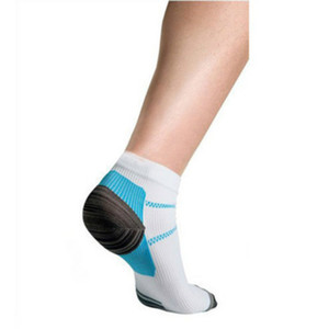 Fuß Kompressionssocken für Plantar Spurs Schmerz Laufsport Wandern Radfahren Socken für Männer und Frauen Freie Größe 6 Farbe Geometrische