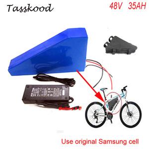 cellule Samsung bici elettrica della batteria 48V 35AH uso della batteria triangolo 48V 1000W Bafang bbs03 litio di bici elettriche Batterie
